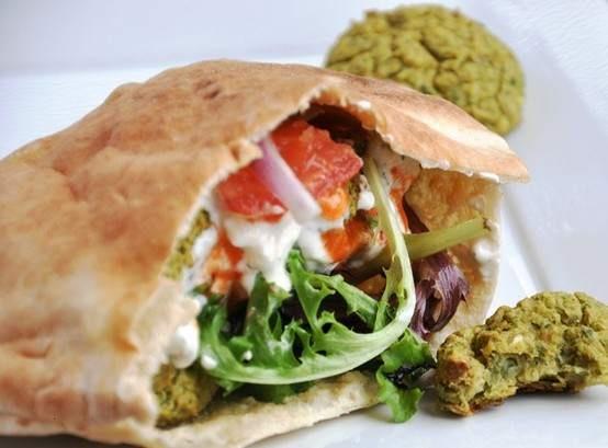 BAKED FALAFEL! HAPPENING THIS WEEKEND! | food | Pinterest