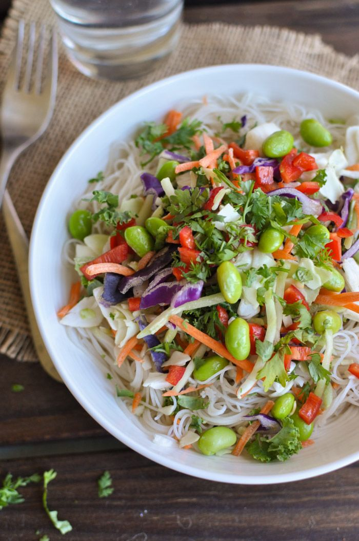 Asian Chicken Salad with Sesame Ginger Dressing | Recipe