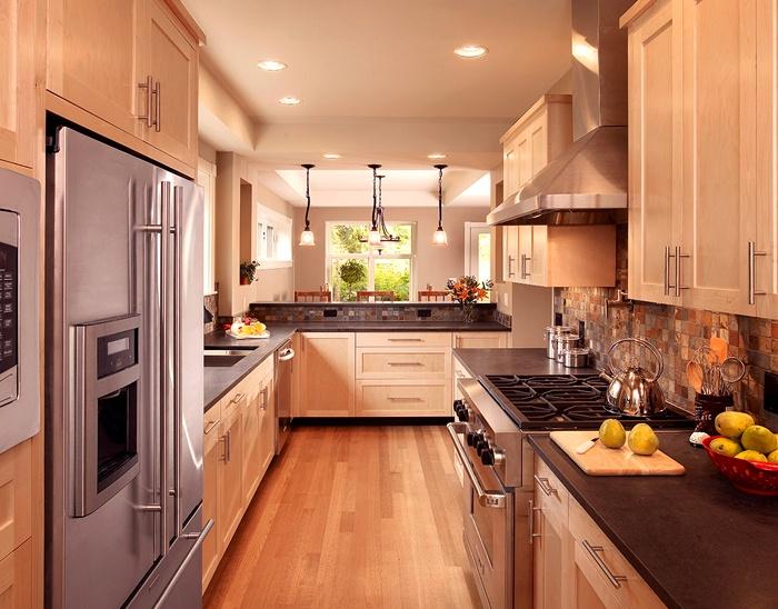 Galley Kitchen Home Pinterest