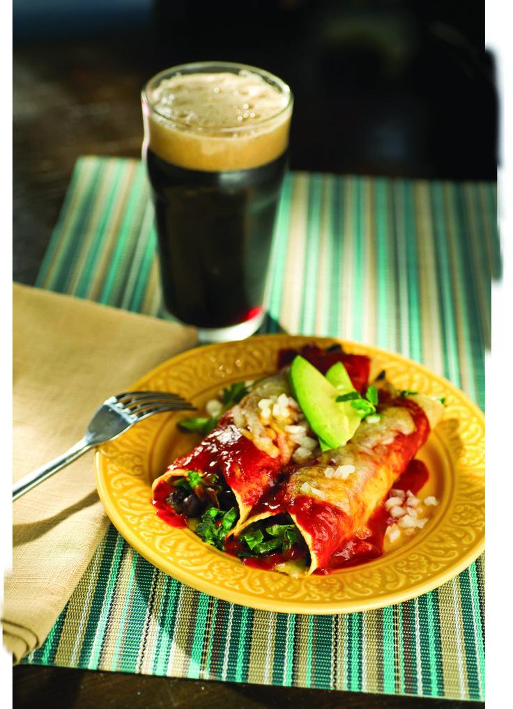 Red Chile, Black Bean & Chard Enchiladas | Vegan/ vegetarian Recipes ...