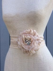 Wedding Belts, Sashes, Ribbons, Ties - Bridal Accessories