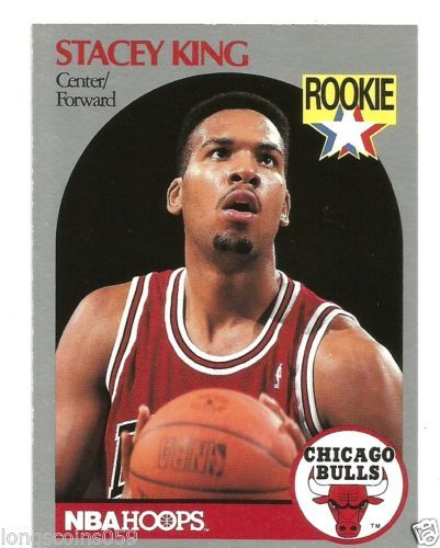 1990 NBA HOOPS STACEY KING ROOKIE CARD