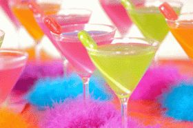 candy cocktails! Yum! | Candy Theme Party | Pinterest