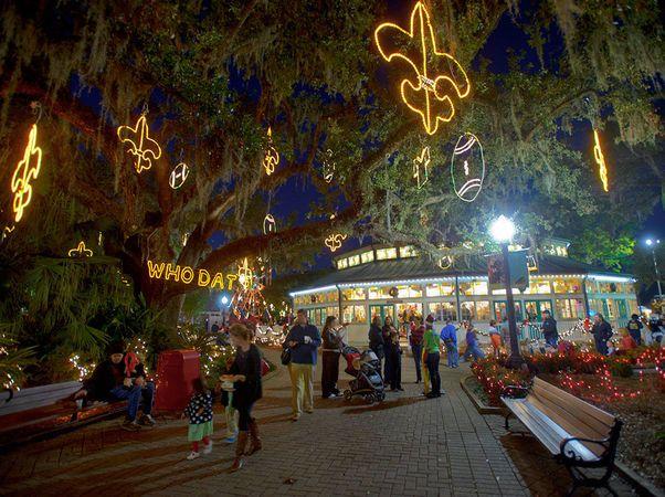 Baton Rouge Christmas Lights