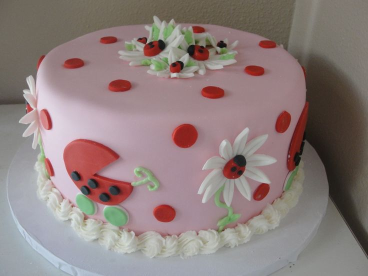 ladybug baby shower cake ladybugparty baby shower ideas pinterest