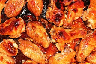 Simple, Quick Sticky Honey Chicken Wings...MADE IT- 9/8. Very good and ...