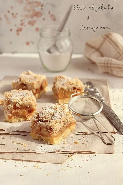 apple pie with orange and thyme | Flickr - Photo Sharing!