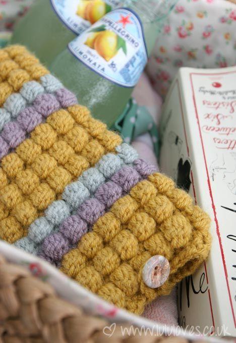 Crochet Bobble Stitch : bobble stitch. knitting patterns and more Pinterest