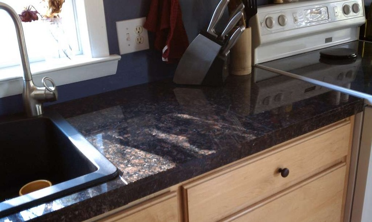 Do It Yourself Granite Tile Countertops Home Remodeling Pinterest