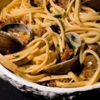 Clam and Sausage Linguine Pasta   Recipe   Pinterest