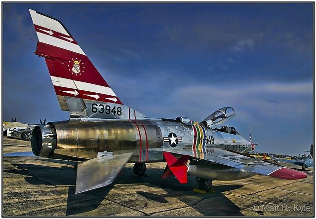 F-100F Super Sabre Fighter Jet