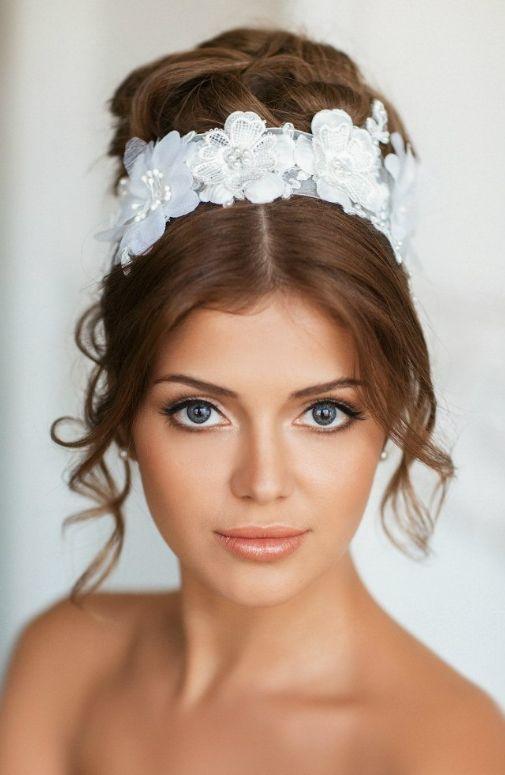 Wedding hairdo BRIDAL Pinterest