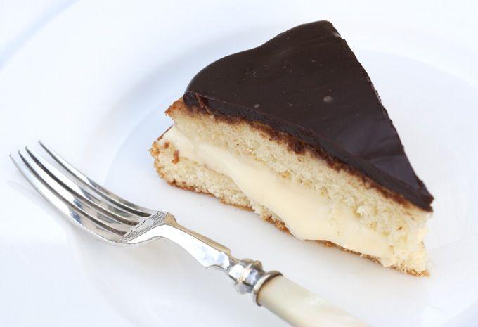 Boston Cream Pie   Sweets   Pinterest