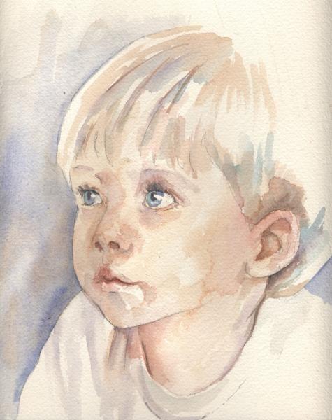 Watercolor Painting Portrait Tutorial Download