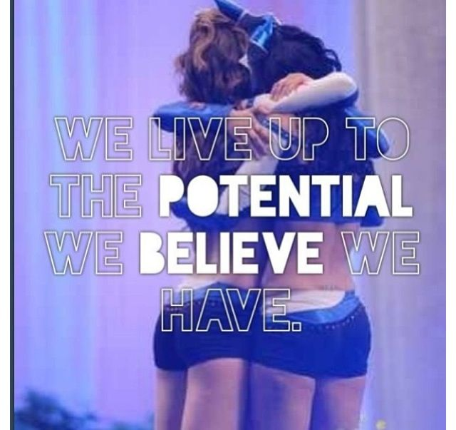 ... in your team and more importantly yourself #Cheerleading quotes