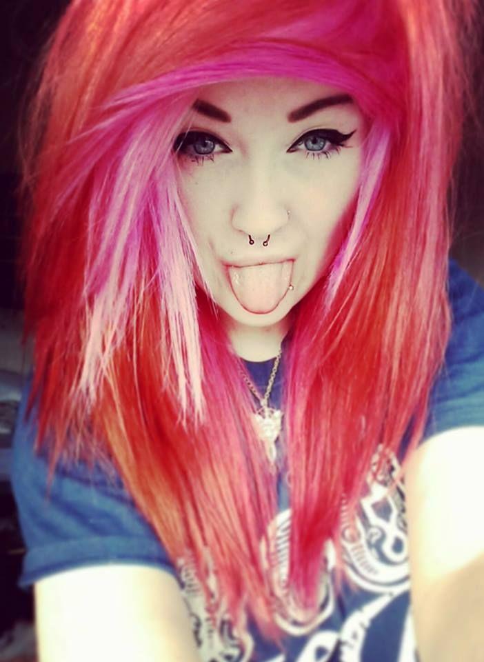 Rainbow Scene Hair Tumblr