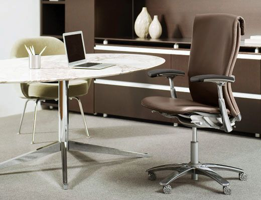 Life chair leather furniture seating conference exec pinterest