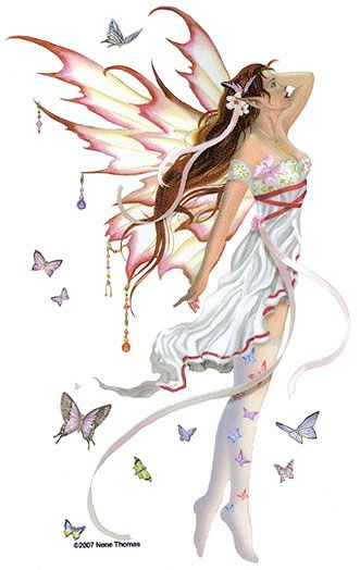 Crystal morning Fairy