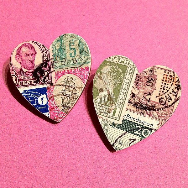 Heart Postage Stamps