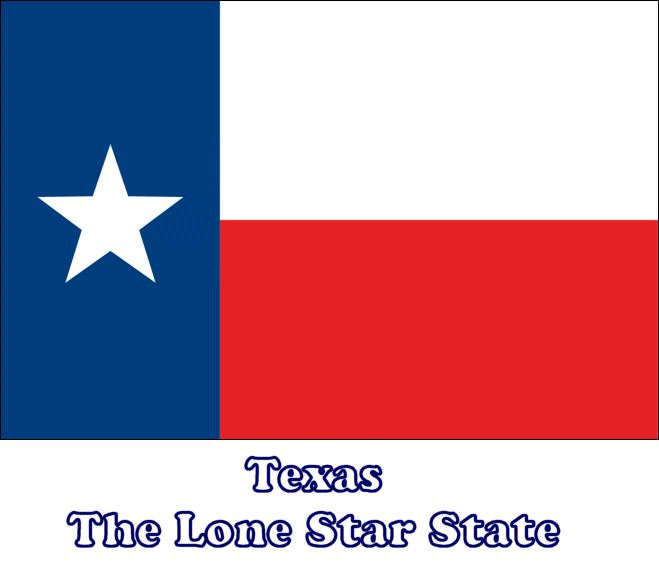 how to fly texas flag
