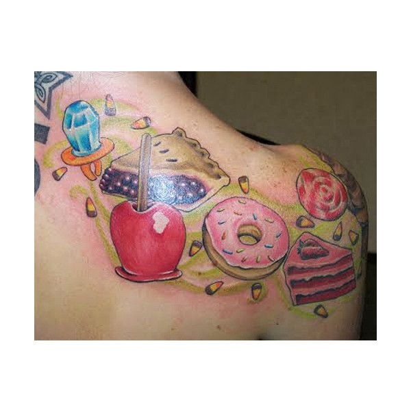 Cupcake Tattoos And Other Of Food Find A Tattoo Blog
