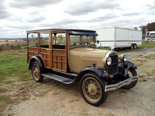 1929 Ford Woody Model A Station Wagon - Clifton, VA #9369624370