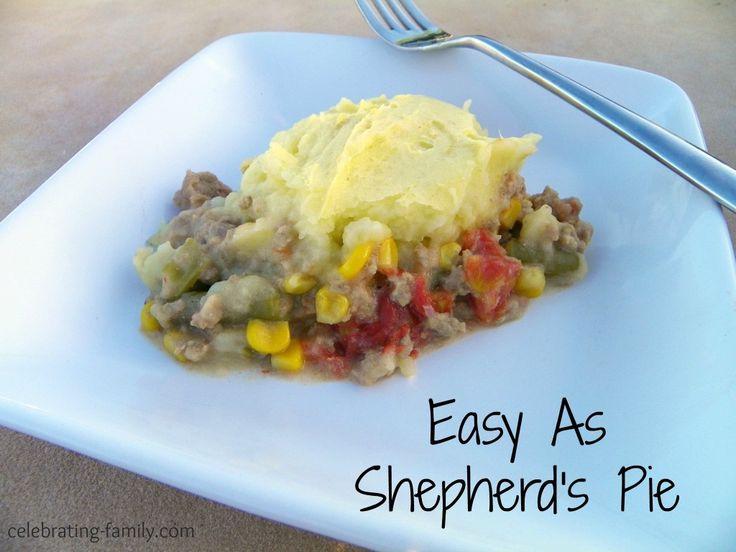 Easy shepherds pie   Food recipes   Pinterest