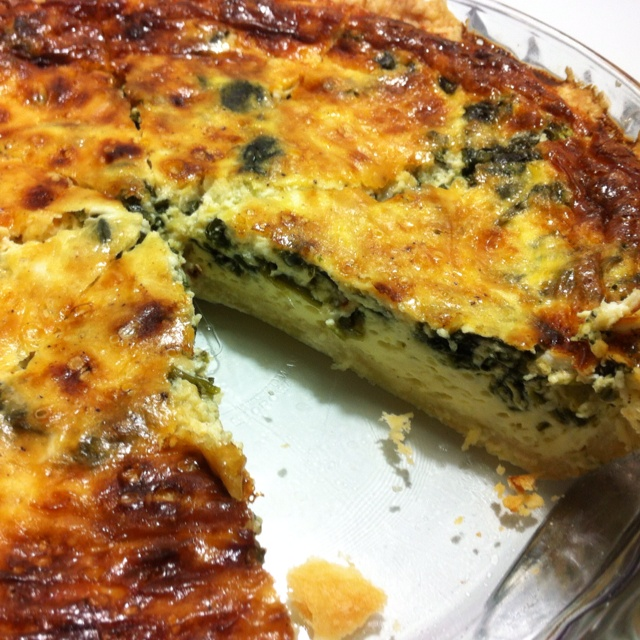 Spinach & Gruyere Quiche | (c) Redtype | 3) Foods and Dining, In the ...