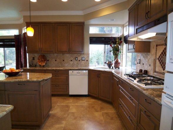 80s kitchen remodel receives the works kitchen pinterest for Remodel 80s kitchen