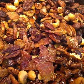 Roasted Bacon Herb Nuts! | Oh Nuts | Pinterest