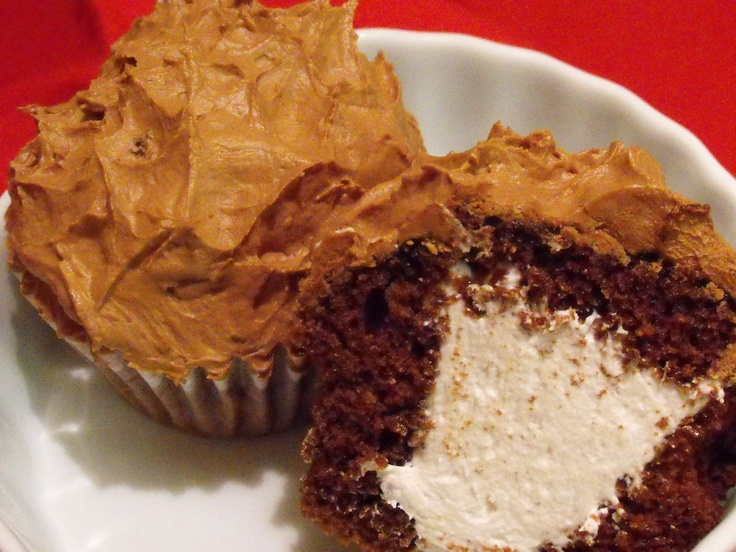 Chocolate Cream-Filled Cupcakes (GF/CF) Recipe — Dishmaps
