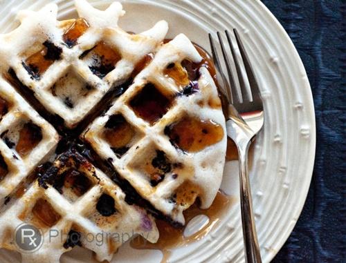 vegan Blueberry Waffles, gluten-free   brunch   Pinterest