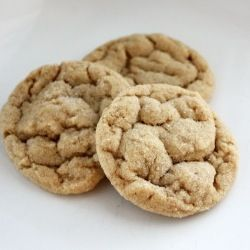 Soft & Chewy Peanut Butter Cookies... and they stay that way! That is ...