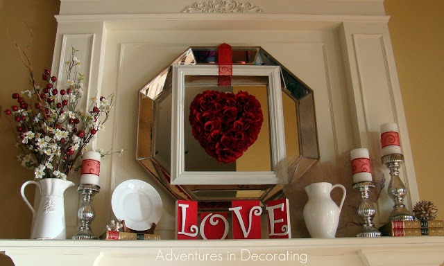 valentine day decor blog