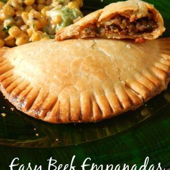 Easy Beef Empanadas Recipe - Num's the Word & ZipList