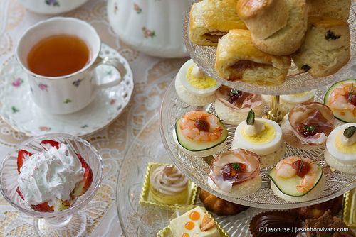 Afternoon Tea, what's not to like about it??? - photo by Jason Tse