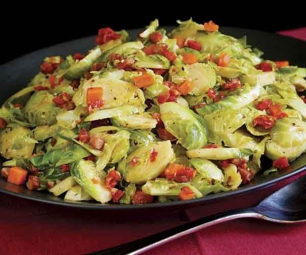 Brussels Sprouts Braised with Pancetta, Shallot, Thyme & Lemon by Fine ...