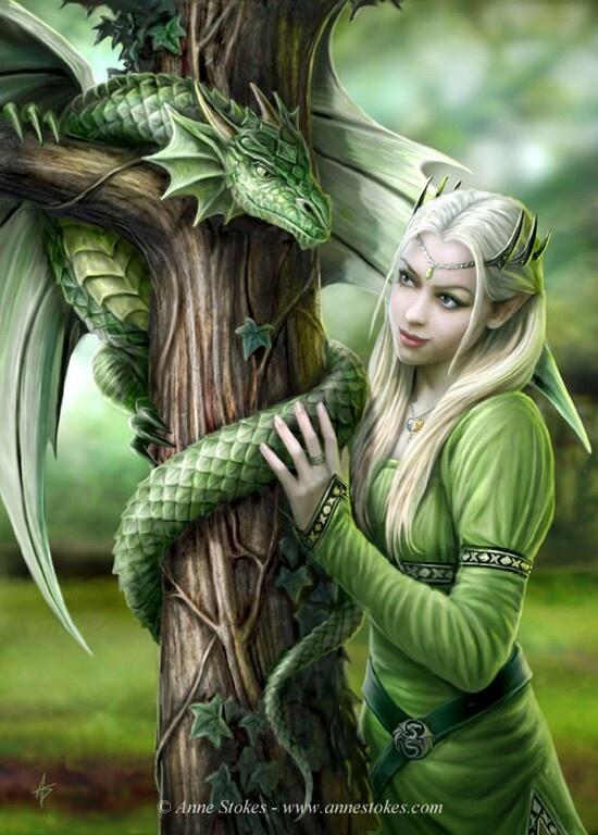 Elf Amp Dragon