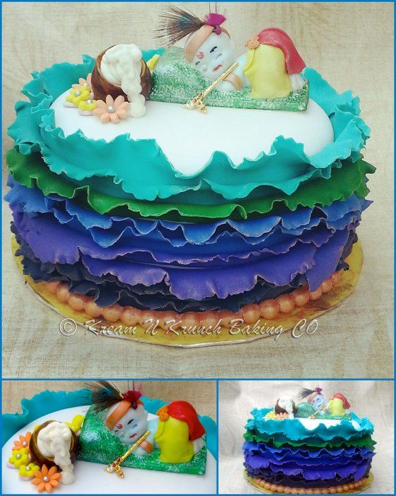 Image Lord Krishna Cake Download
