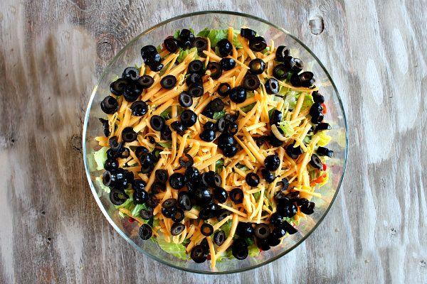 Tex Mex Layered Salad | Recipe Girl