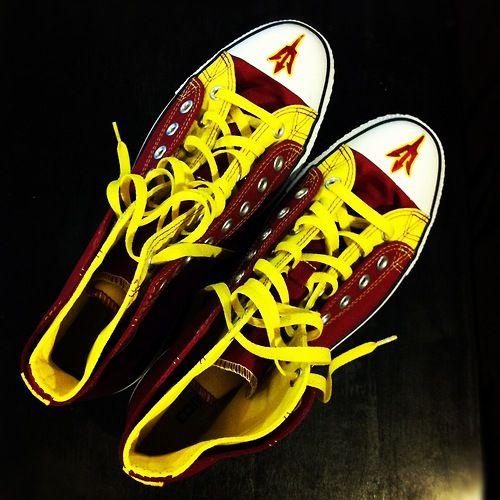 Custom Asu Adidas Shoes
