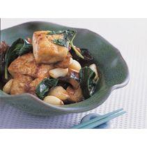 braised bean curd firm tofu with mushrooms braised bean curd firm tofu ...