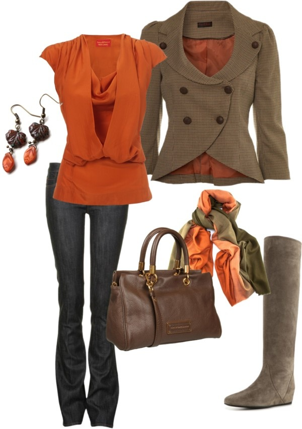 "Definitely a 'yes, let's do some autumn strollin' for me :) -""Autumn outfit"" by clarastampa on Polyvore"