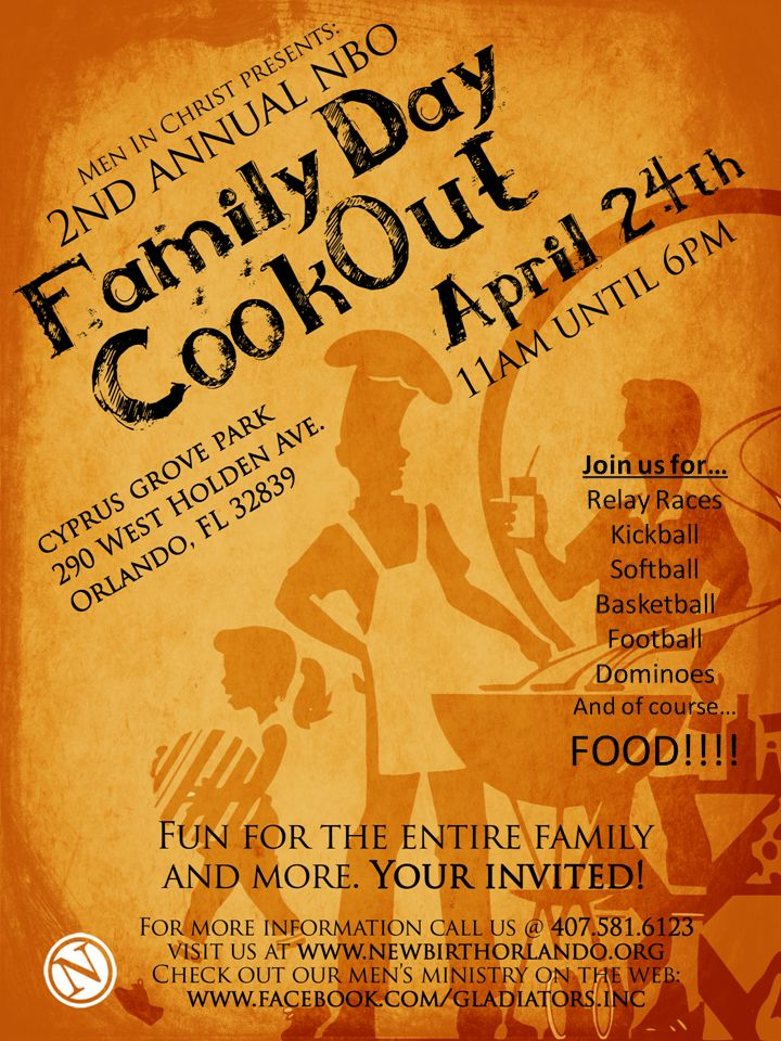Company Cookout Flyer Announce Your Next Corporate Picnic with these
