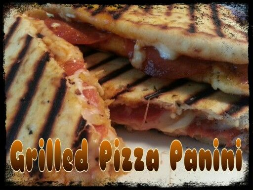 Grilled Pizza Panini | Food - Sandwiches & Soups | Pinterest