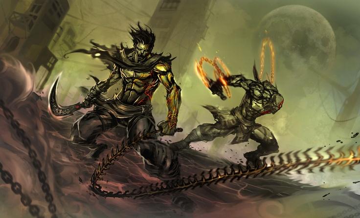 Dastan amp kratos comics games scifi fantasy pinterest