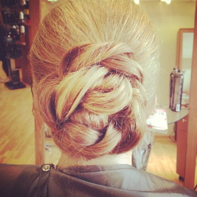 Wedding hair trial | Weddings | Pinterest