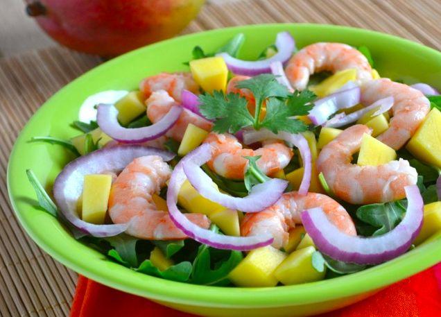 Shrimp Salad On Cucumber Slices Recipe — Dishmaps