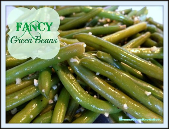 - Simply Fancy Green Bean Side Dish! This is a no fuss and delicious ...