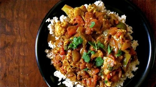 Easy vegetable curry | Food, Recipes | Pinterest